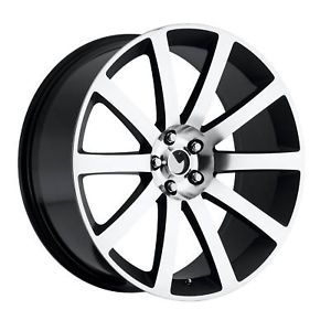 "22"" Chrysler 300C SRT8 Charger Magnum Wheel Rim BMF"