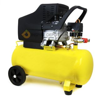 3 5HP Motor Pneumatic Portable Air Compressor 125 PSI 10 Gallon Tank Hot Dog