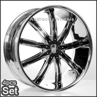 26inch Wheels Rims Chevy Tahoe Ford Escalade RAM H3