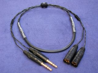 "2 Channel Mogami 2930 Snake Nutrik Gold TRS to XLR Male 1 4"" XLR M XLRM 6 Feet"
