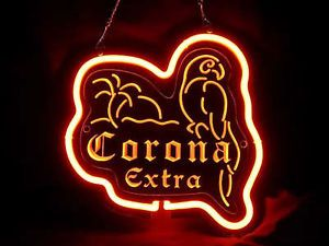 Neon 019 Corona Extra Beer Palm Tree Neon Light Sign 3D Man Cave Happy Hour