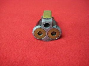 Johnson Evinrude Pressurized Gas Tank Fitting Double 2 Line Hose 376341