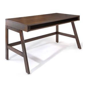 Trundle Desk by Offi Office Furniture High End Walnut