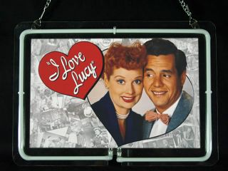 NEON692 I Love Lucy Pattern 2 Neon Sign New Hot