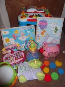 A LeapFrog Activity Table and Lots of Other Toys Fisher Price Vtech