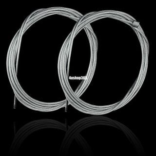 2X Replacement Shifter Shift Cable Steel Inner Wire for Bike Bicycle Cycling 2M