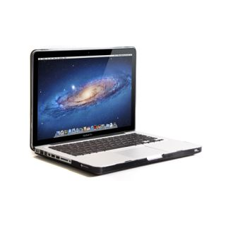 Black Rubberized Hard Case Screen Protector Keyboard Cover for MacBook Pro 13""