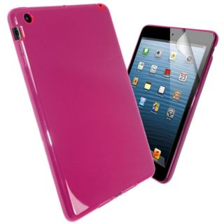 New Transparent Glossy Back Case Cover for iPad Mini Screen Protector