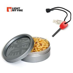 Light My Fire Flint and Steel Tinder Box Outdoor Hunting Camping Emergency Kit