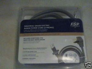 New Industrial Grade Electric Range Power Cord 3 Prong