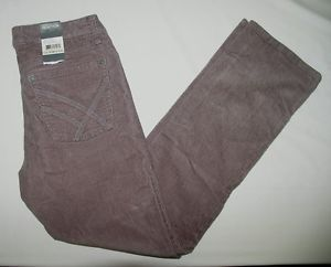 Kenneth Cole Reaction Mens Corduroy Jeans Pants Gray $60