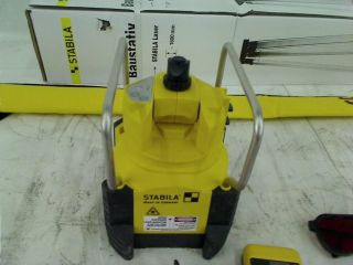 Stabila 05155 Self Leveling Rotating Laser with Receiver Tripod and Grade Rod