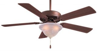"Minka Aire F548 ORB Contractor 52"" Oil Rubbed Bronze Traditional Ceiling Fan"