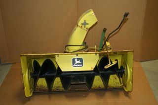 John Deere Snow Blower 338 Attachment