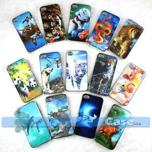 14 PC 3D Hologram Lenticular Picture Snap Case Cover iPhone 4 4S Wholesale Lot