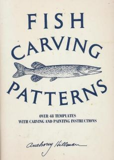 Fish Carving Patterns Over Forty Eight Templates With