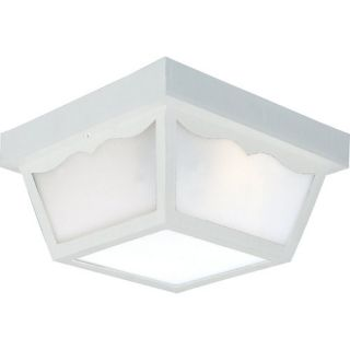 Progress Lighting P5745 White Functional 2 Light Outdoor Ceiling Fixture from TH