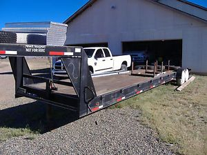 2006 Hodges 40 ft Gooseneck Two Car Hauler