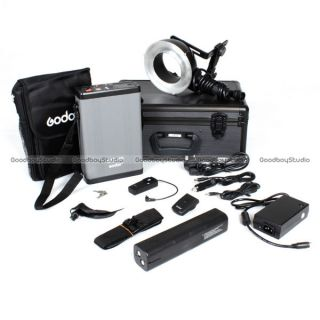 Godox EXR400 400W Portable Studio Ring Flash Light Kit for Outdoor Photography