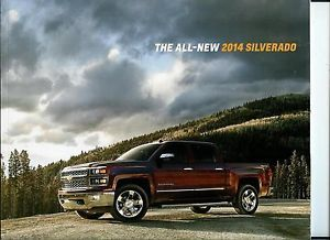 2014 Chevy Silverado Pickup Dealer Sales Brochure LTZ Lt High Country 43 Pgs