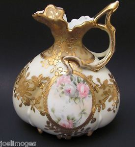 Antique Hand Painted Porcelain