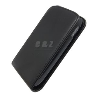 Leather Case Cover Pouch Screen Film for Samsung Galaxy Young S6310 A