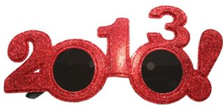 2013 Party Glasses 2 Pack Bring in The New Year with These Fun Party Frames
