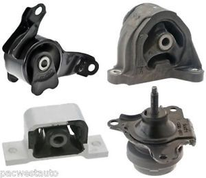 03 04 05 Honda Civic Hybrid Engine Motor Mount Set of 4