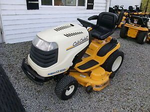 "Cub Cadet Super LT1550 Lawn Tractor Riding Mower 50"" Deck"