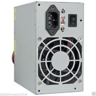 A Power AGS 400W 20 4 Pin ATX Power Supply w SATA