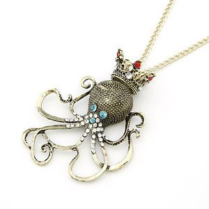Jewelry Lovely Animal Crystal Pendant Necklace