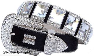 B B Simon Swarovski Crystal Belt BB M 32 New $800