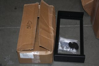CPI 13394 704 Black 4U Aluminum Cross Member Bracket Patch Rack NIB
