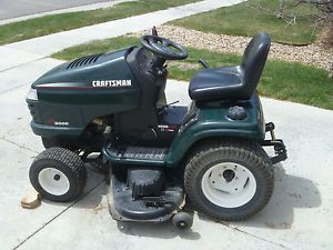 "2003 Craftsman GT3000 Lawn Tractor Riding Mower 50"" Deck 23hp Kohler Hydrostatic"