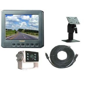 "Voyager AOS562 5 6"" Color Rear View RV Back Up Camera System"