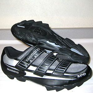 Shimano SPD Cleat Compatible Mountain Biking Cycling Shoes Mens Sz 12 5 Euro 47