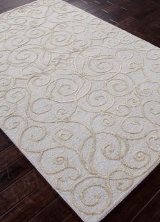 Area Rugs Transitional Hand Tufted Pastel Blue 8'x11' 24229 Jay
