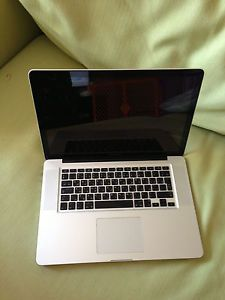"Apple MacBook Pro 15"" Laptop Intel Core 2 Duo 2 8GHz 4GB 80GB"
