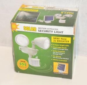 Maxsa Innovations 40218 Solar Motion Activated Security Light