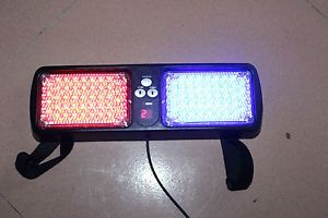86 LED Emergency Warning Caution Security Red Blue Light Factory Direct