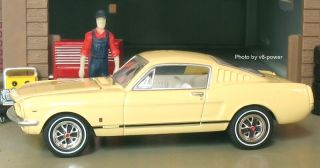1965 Ford Mustang GT Fastback 1 64 Diecast 1 of 4260