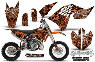 KTM SX65 Graphic Kit AMR Racing Plates Decal Sticker SX 65 Part 09 12 Hammers