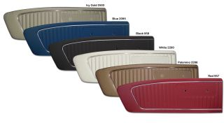 1964 1 2 1965 Ford Mustang Standard Door Panels by TMI