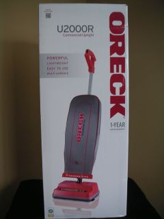 Oreck U2000R Upright Cleaner Vacuum Commercial Grade Heavy Duty Brand New WOW 074380824129