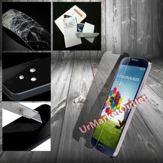 Clear Tempered Glass LCD Screen Protector Film Samsung Galaxy Note 2 II N7100