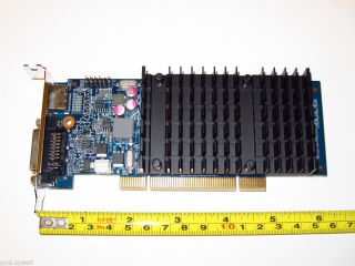 NVIDIA GeForce 512MB PCI Low Profile Half Height DVI HDMI HD Video Graphics Card