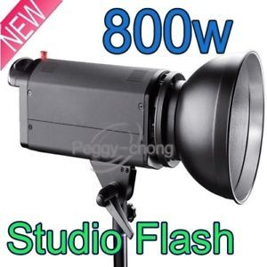 Photo Studio Light Flash Strobe Monolight 800W