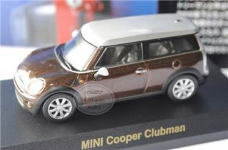 Kyosho 1 64 BMW Mini Cooper Clubman Minicar Model Diecast Color Coffee
