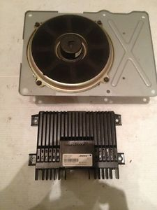 2002 03 Nissan Maxima Bose Rear Sub Subwoofer and Factory Amplifier Original