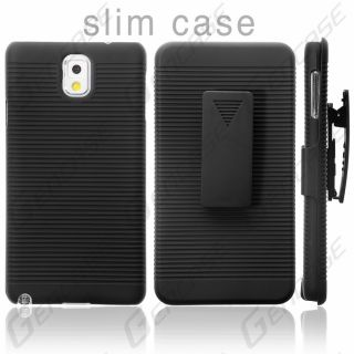 Samsung Galaxy Note 3 Case Cover Slim Armor Holster Combo Protector All Carriers